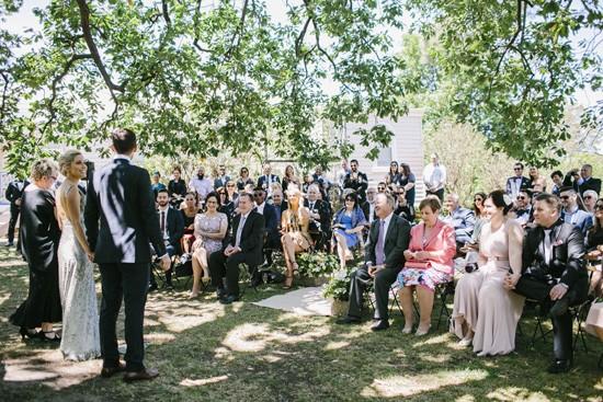 Shade of a big tree wedding ceremony