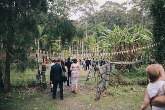 South coast garden wedding