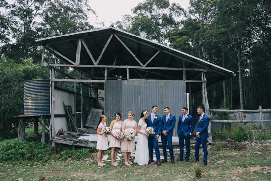 South coast wedding party