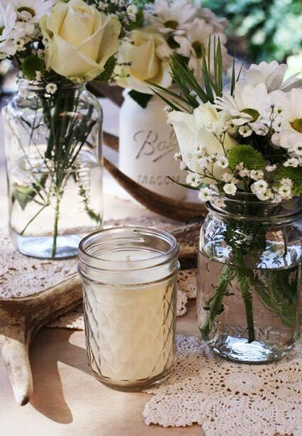 The Huntress & Co. Mason jars