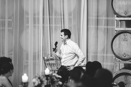 Winery wedding speech
