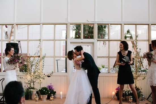 Furniture Warehouse Wedding in Melbourne