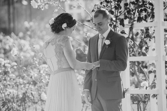 Garden marriage ceremony Canberra