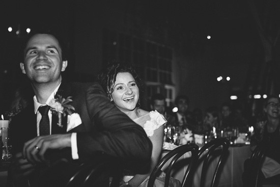 Laughter at Laurens Hall Wedding