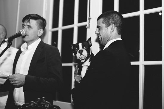 Laurens Hall wedding moments