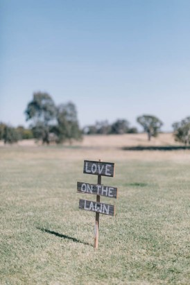 Love On The Lawn Sign