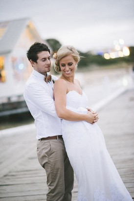 Newlyweds in Barwon Heads