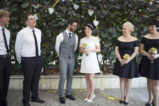 Perth courtyard wedding