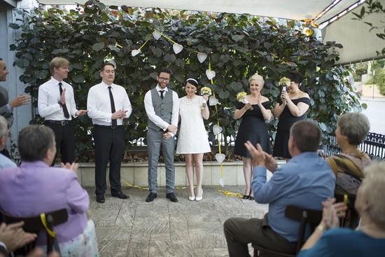 Peth courtyard wedding
