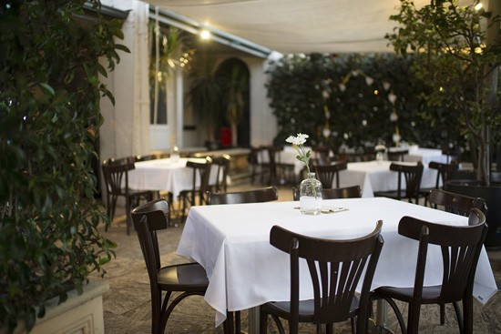 Restaurant wedding reception in Perth