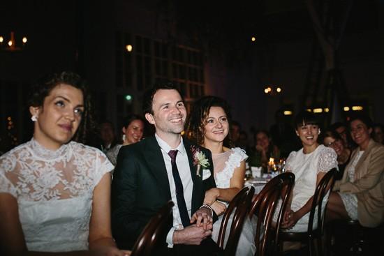 Speeches at Melbourne wedding