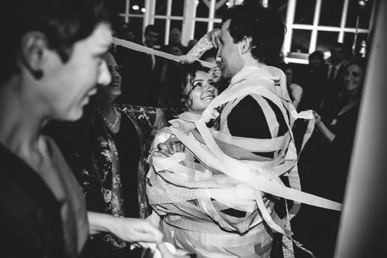 Streamer first wedding dance