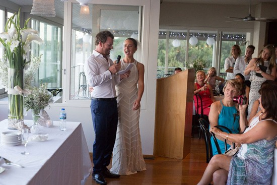 The Baths Sorrento Wedding Reception photo