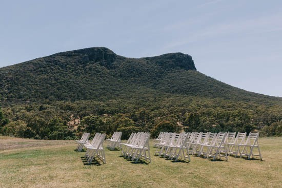Wedding ceremony at The Royal Mail Hotel, Dunkeld