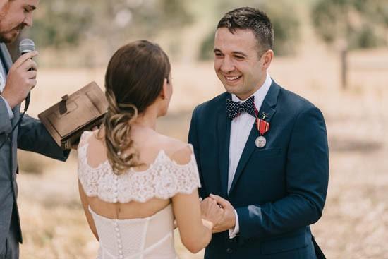 Wedding ceremony in Dunkeld