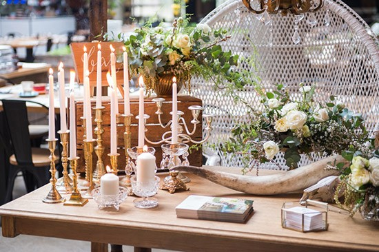4. Brass Candle Holder-Miss Mooi