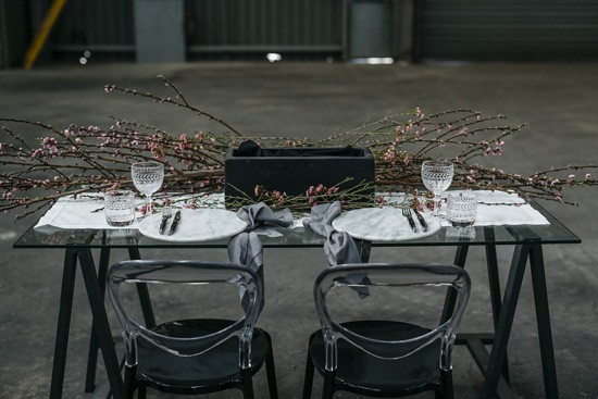 Industrial Warehouse Wedding Ideas010