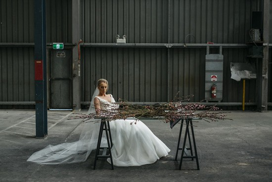 Industrial Warehouse Wedding Ideas045