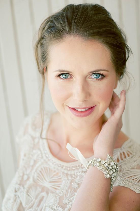 Bridal makeup look natural