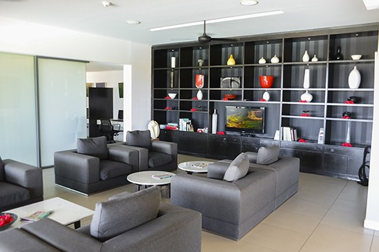 Intercontinental Fiji Club Lounge Facilities