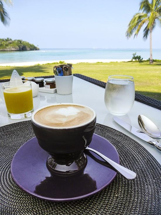 Intercontinental Fiji Navo Breakfast