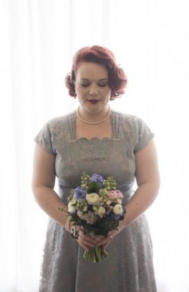 Intimate Vintage Inspired Wedding025