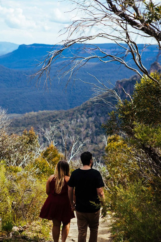 Quirky Blue Mountains Engagement017