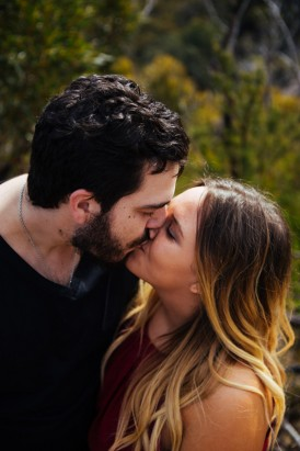 Quirky Blue Mountains Engagement022
