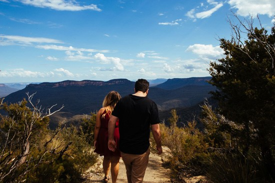 Quirky Blue Mountains Engagement027
