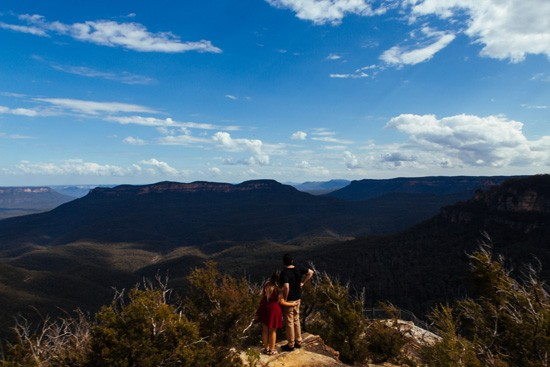Quirky Blue Mountains Engagement028