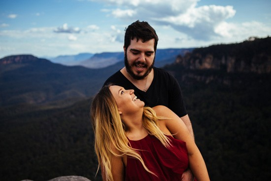 Quirky Blue Mountains Engagement043