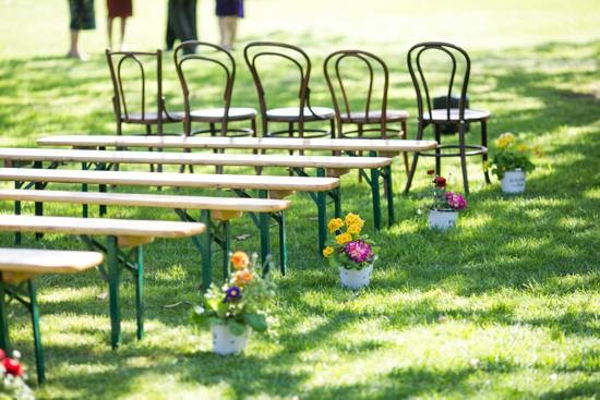 Sparkling garden cafe wedding025