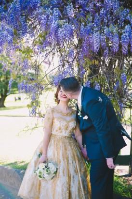 Sparkling garden cafe wedding039