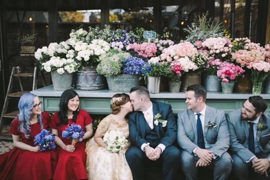 Sparkling garden cafe wedding089