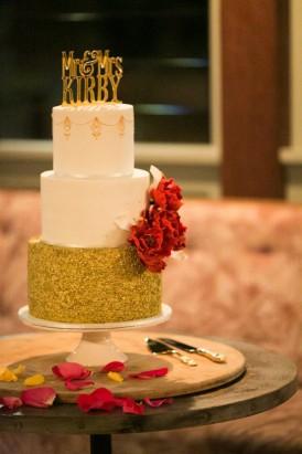 Sparkling garden cafe wedding111
