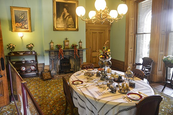 Werribee Mansion Dining room