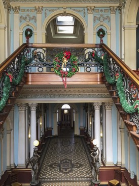Werribee Mansion Histroic Stairs