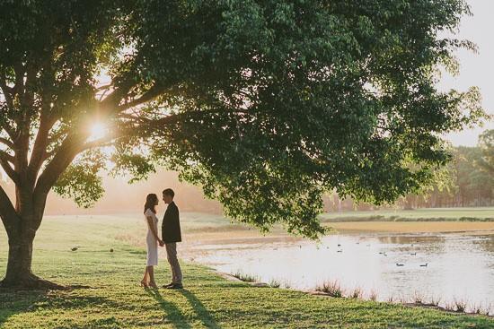 Elegant Sunset Engagement029