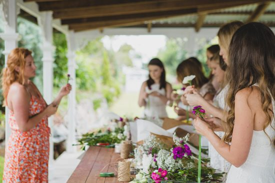 Flower Filled Bridesmaid Party058
