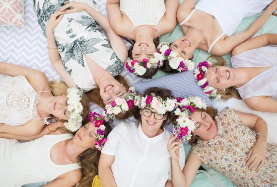 Flower Filled Bridesmaid Party132