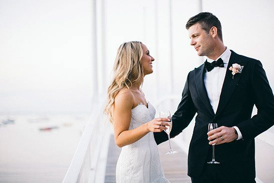 Modern Waterside Wedding110