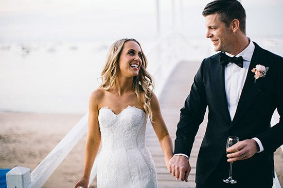 Modern Waterside Wedding111