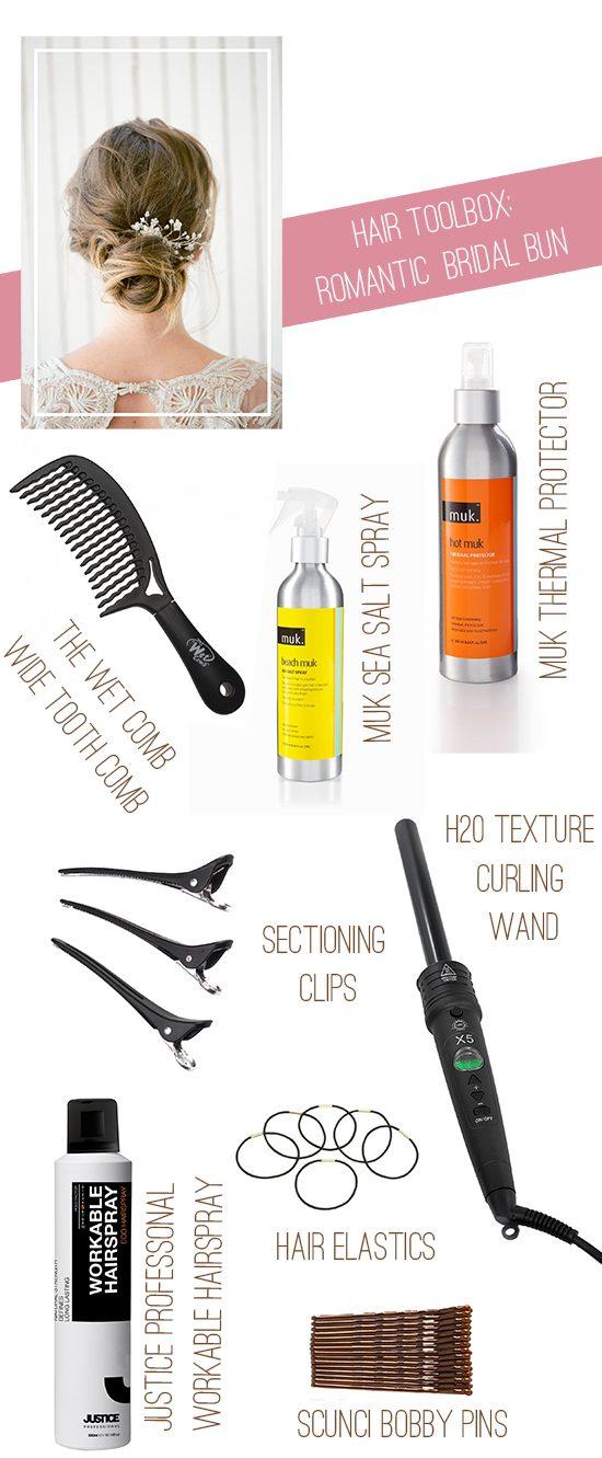 Roamntic Bridal Bun Hair Toolbox