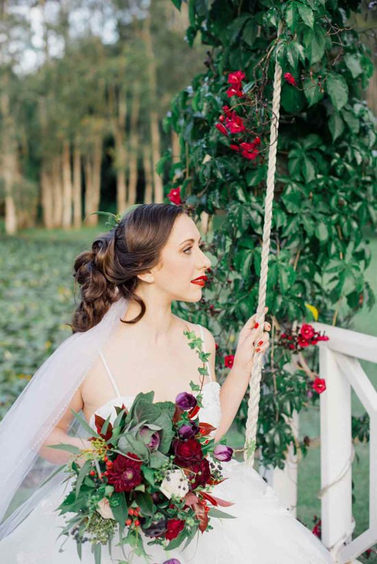 Bright Winter Romance Wedding Ideas054