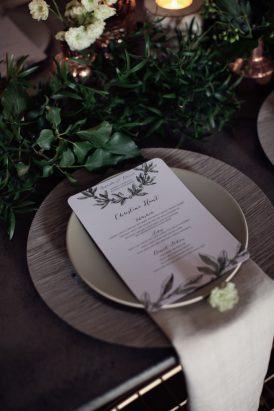Modern Greenery With Jewel Tones Bridesmaid Inspiration001