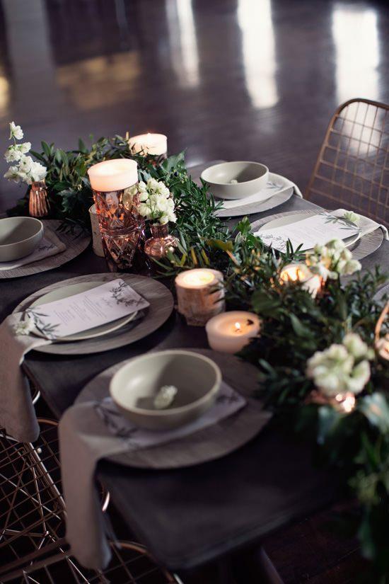 Modern Greenery With Jewel Tones Bridesmaid Inspiration004