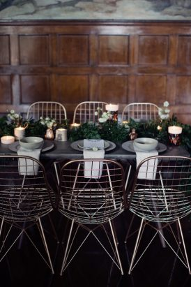 Modern Greenery With Jewel Tones Bridesmaid Inspiration005