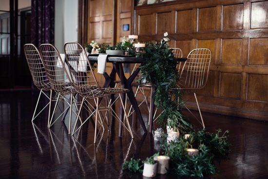 Modern Greenery With Jewel Tones Bridesmaid Inspiration006