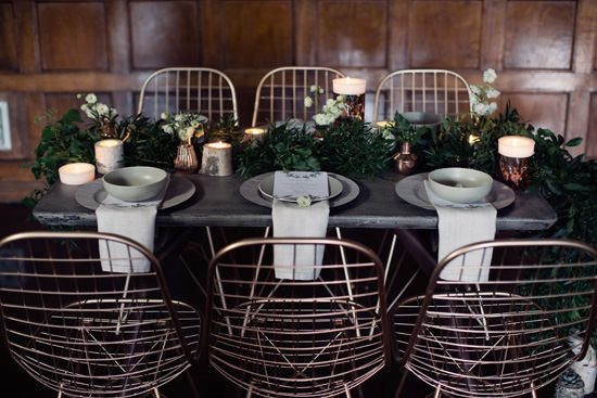 Modern Greenery With Jewel Tones Bridesmaid Inspiration007