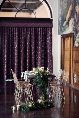 Modern Greenery With Jewel Tones Bridesmaid Inspiration010